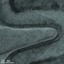 FinFET specimen prepared with the PicoMill system reveals three-dimensional structures for TEM imaging and analysis. A 22 nm Ivy Bridge microstructure imaged in a 300 kV scanning transmission electron microscope (STEM) with Cs correction is shown.